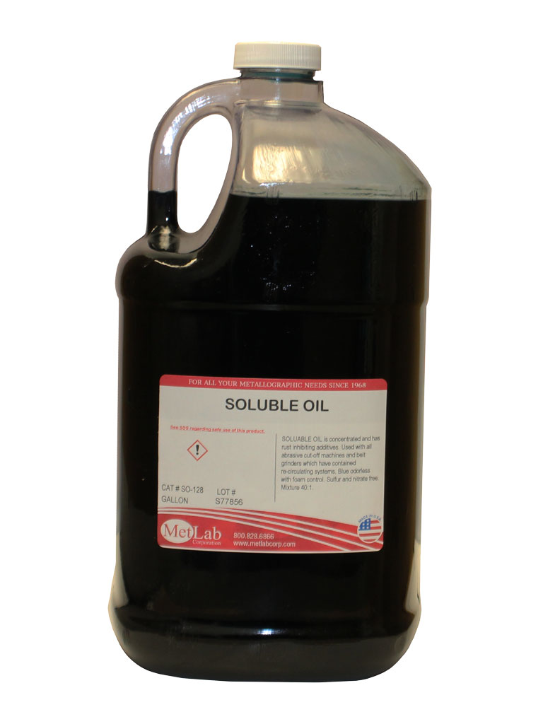 SOLUBLE OIL | Cutting Supplies - Metlab Corporation
